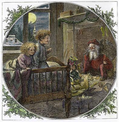 Thomas Nast Santa Claus Poster