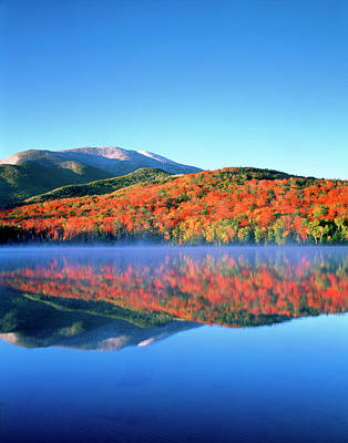 Usa, New York, Adirondack Mountains Poster