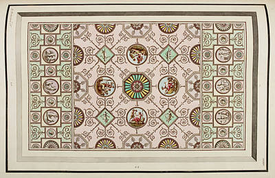 Antique Grotesque Ceilings Poster
