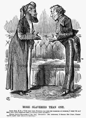 Benjamin Disraeli (1804-1881) Poster by Granger