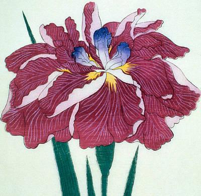 Japanese Flower Poster by Japanese School