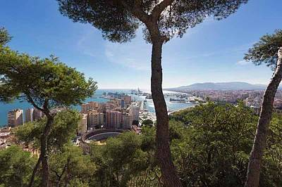 Malaga, Costa Del Sol, Spain Poster by Ken Welsh