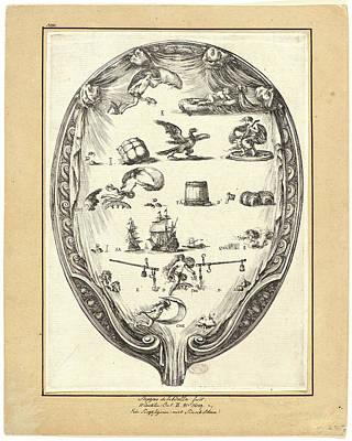 Stefano Della Bella Italian Poster by Litz Collection