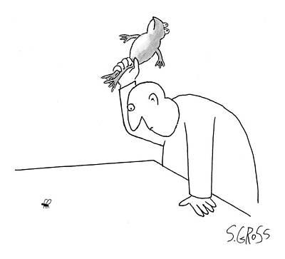 New Yorker November 27th, 2006 Poster by Sam Gross