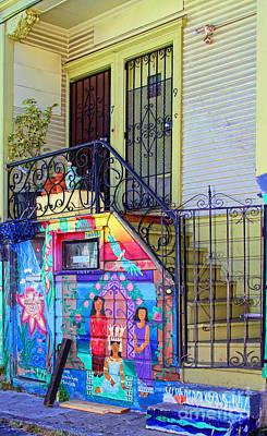 25 Balmy Alley San Francisco Poster