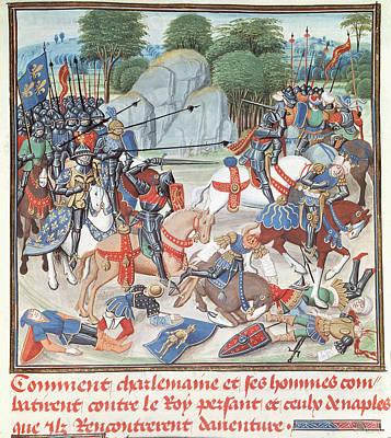 Charlemagne (742-814) Poster by Granger