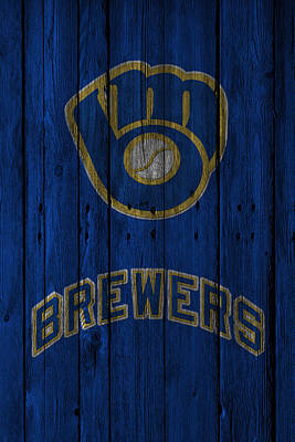 Milwaukee Brewers Poster by Joe Hamilton