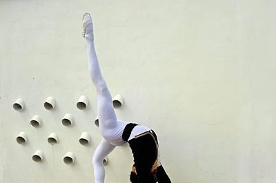 National Ballet Of Panama Poster by Kike Calvo