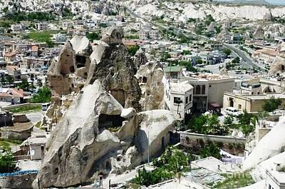 Nevsehir Landscape Poster by Ted Pollard