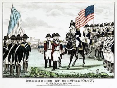 Yorktown Surrender, 1781 Poster