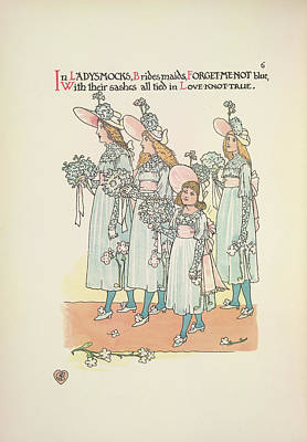 A Flower Wedding Poster by British Library