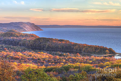 Fall In Sleeping Bear Dunes Poster
