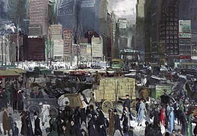 New York 1911 Poster