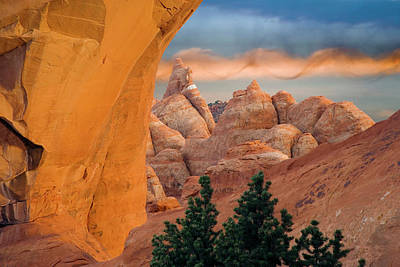 Usa, Utah, Arches National Park Poster by Jaynes Gallery