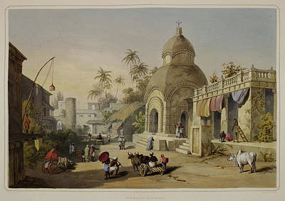 Views Of Calcutta And Its Environs Poster