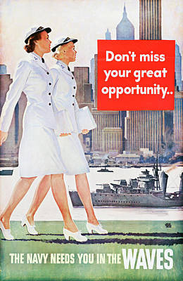 Wwii Poster, C1943 Poster