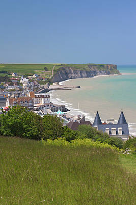 France, Normandy, D-day Beaches Area Poster