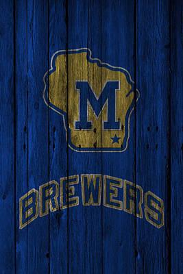Milwaukee Brewers Poster by Joe Hamilton