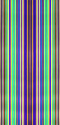 Multicoloured Light Trails Poster by Lawrence Lawry