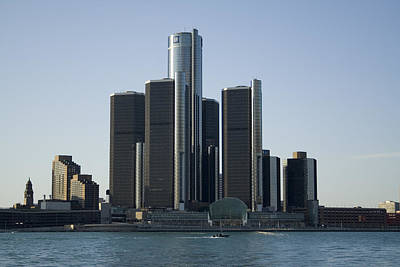 Renaissance Center Poster by Gary Marx