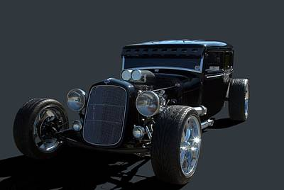 1931 Ford Sedan Hot Rod Poster