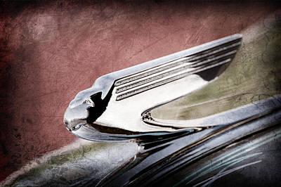 1936 Chevrolet 2dr Sedan Hood Ornament Poster
