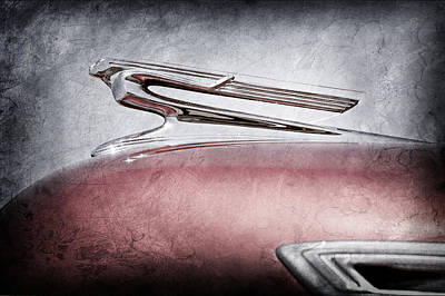 1941 Chevrolet Hood Ornament Poster by Jill Reger