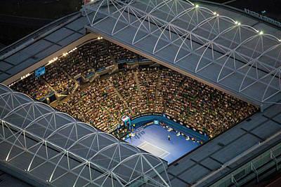 2014 Australian Open Poster by Brett Price