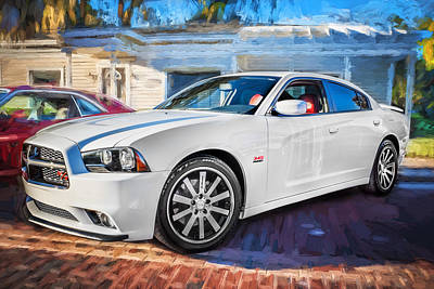 2014 Dodge Charger Rt Painted  Poster