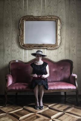 40s Lady Poster by Joana Kruse