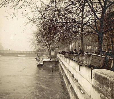 Album Flooding Paris Suburbs In 1910, France Poster by Artokoloro