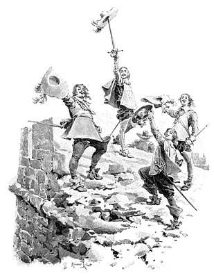 Alexandre Dumas (1802-1870) Poster