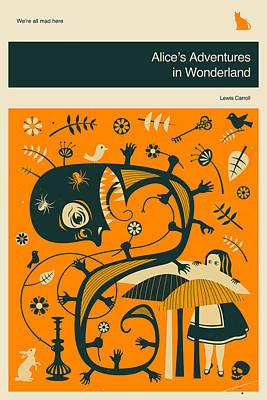 Alice In Wonderland Poster by Jazzberry Blue