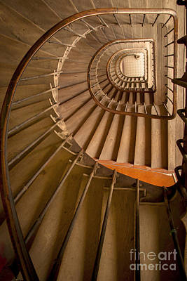 Ancient Staircase Poster by Brian Jannsen