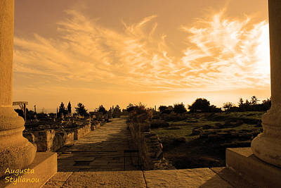Apollo Sanctuary - Cyprus Poster