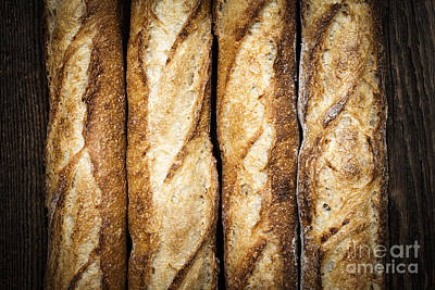 Baguettes Poster
