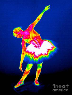 Ballerina, Thermogram Poster