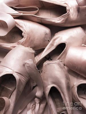 Ballet Slippers Poster by Diane Diederich