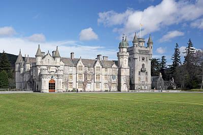 Balmoral Castle Poster by Grant Glendinning