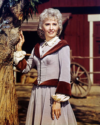 Barbara Stanwyck In The Big Valley  Poster by Silver Screen