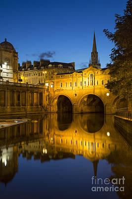 Bath England Poster by Brian Jannsen