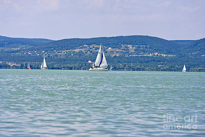 Beautiful Lake Balaton  Poster