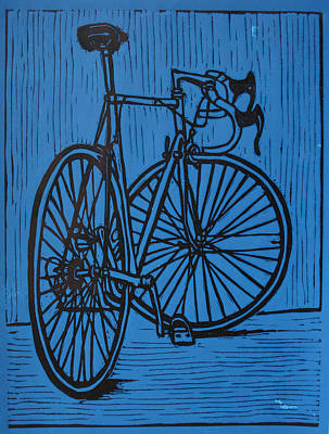 Bike 4 Poster by William Cauthern