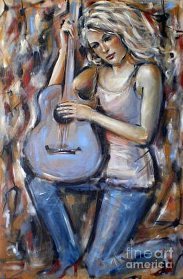 Blue Guitar 010709 Poster