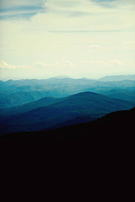 Poster featuring the photograph Blue Ridge Mountains by Kim Fearheiley