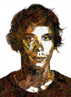 Bob Morley Poster by Celestial Images