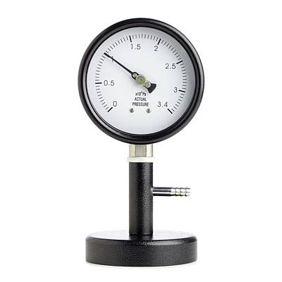 Bourdon Pressure Gauge Poster by Science Photo Library