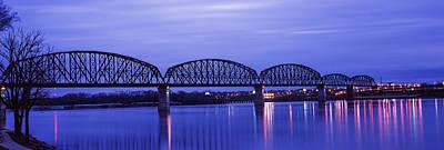 Bridge Across A River, Big Four Bridge Poster