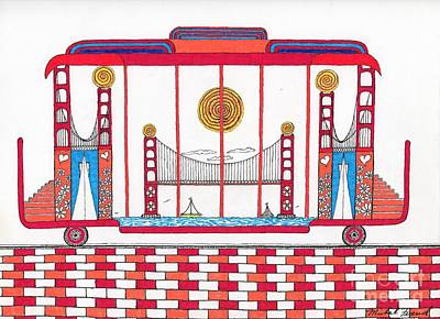 3 Bridges And Cable Car Poster