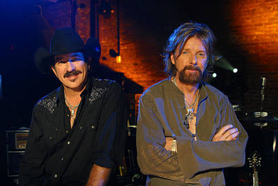 Brooks And Dunn Poster by Don Olea